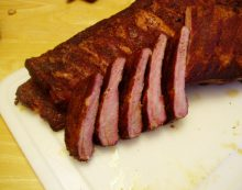 Weber Kettle Cooking – Smoked Spare Ribs
